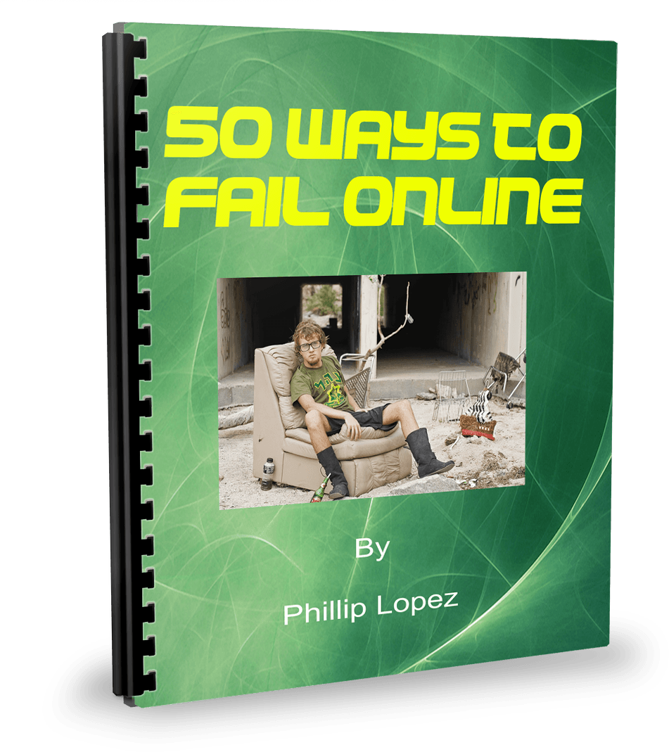 50 ways to fail online ecover