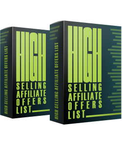 High Selling Affiliate Offers List